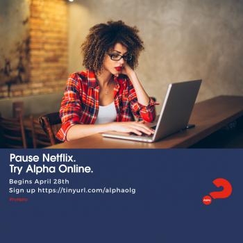 Alpha 2020 Pause Netflix Instagram