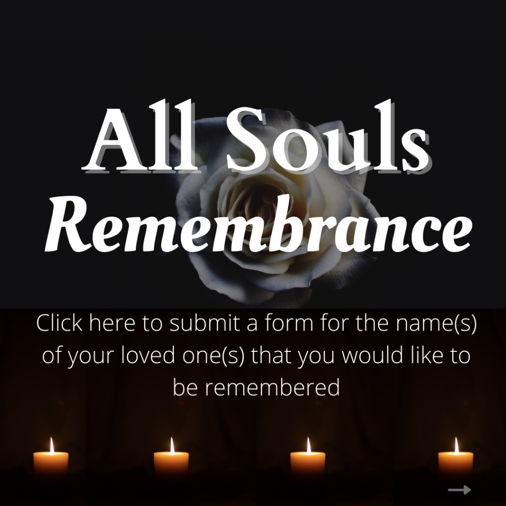 All Souls Remembrance Mass and Package